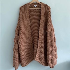 Toni Oversized Knitted Chunky Cardigan